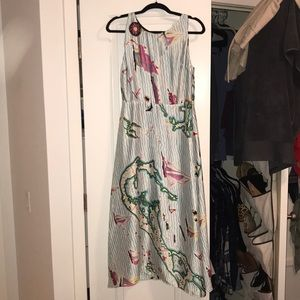 Super fun Eva Franco detailed dress!
